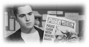 炭鉱支援の募金活動をしよう