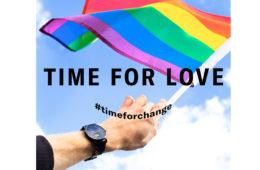 あらゆる愛のかたちを称える限定ウオッチ「Time for Love」